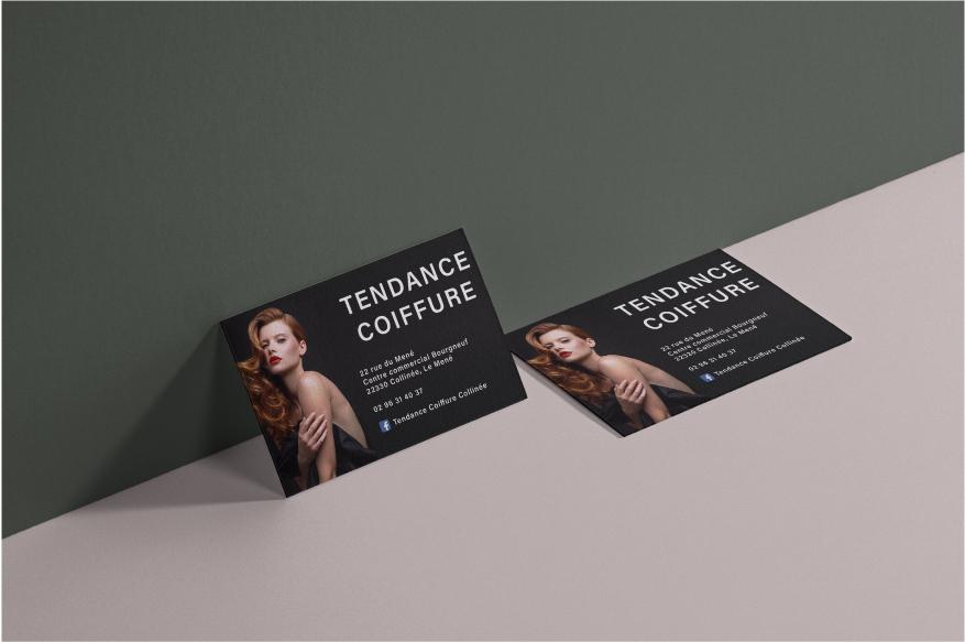 Carte de visite Tendance Coiffure
