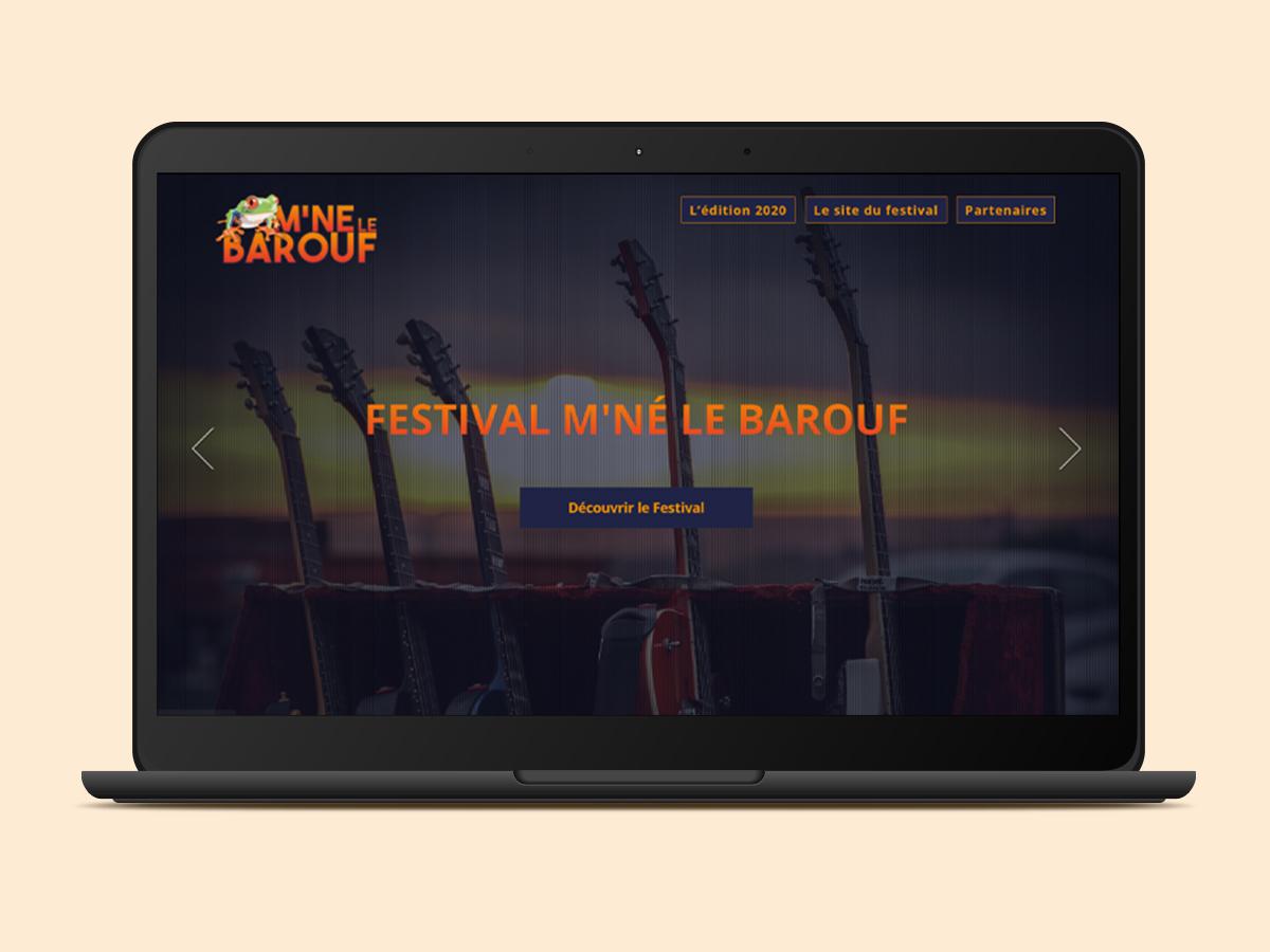 Site web M'né le barouf