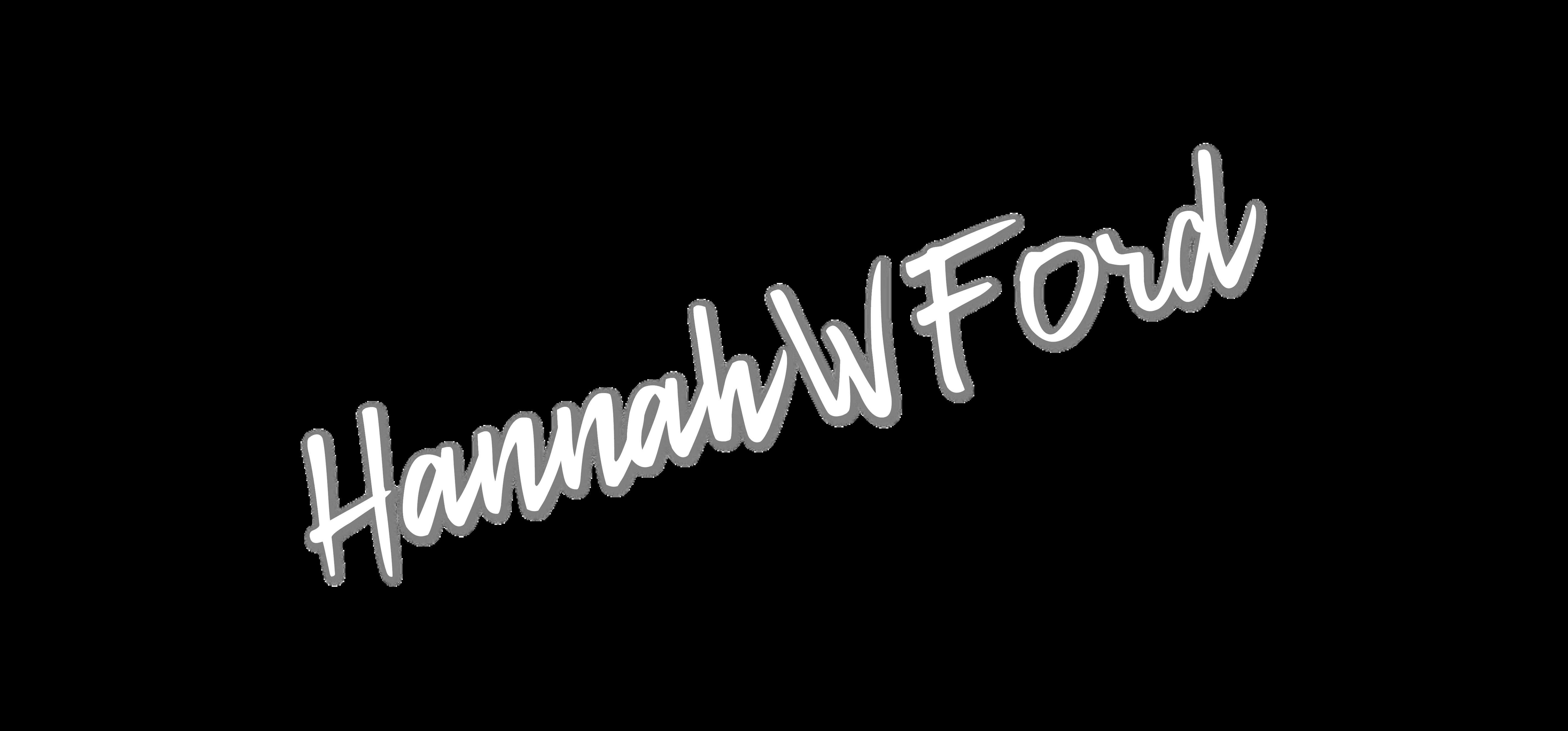 Hannah W Ford